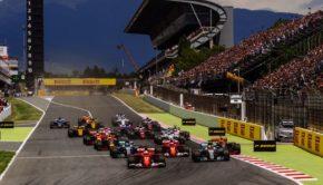 Partenza del GP di Spagna 2017