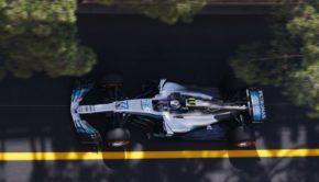Bottas (Mercedes) al GP Monaco 2017