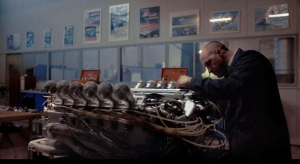 Il leggendario 12 cilindri boxer della Ferrari 312B