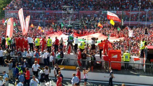 GP d'Italia, la festa di fine gara