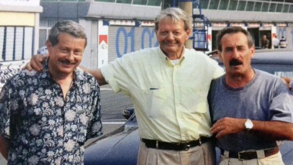 Santandrea con Renzo Togna ed Alberto Angeletti
